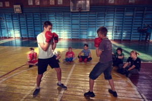 Гермес. Тренировка по рукопашному бою. Детская группа